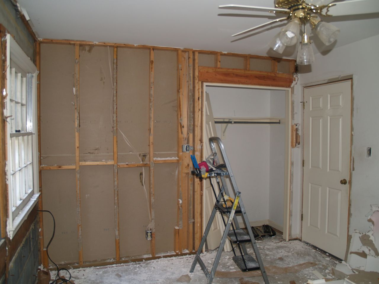 What not to do with drywall geeky girl engineer guest room deconstruction solutioingenieria Image collections