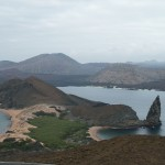 This view was used in the movie Master and Commander. Bartolome Island