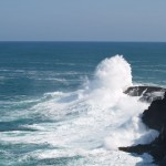Blowholes near Petrified Forest in Cape Bridgewater, Victoria