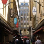 Degraves Street in Melbourne, Victoria