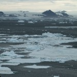 view from James Ross Island, Antarctica