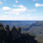 View from Echo Point in Blue Mountain National Park, New South Wales