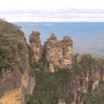The Three Sisters in Blue Mountain National Park, New South Wales