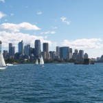 Sydney Harbour in Sydney, New South Wales