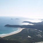 view from Mt. Oberon in Wilson's Promontory National Park, Victoria