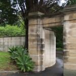 Macquarie Wall in Sydney, New South Wales