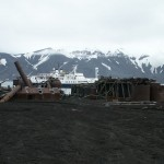 Abandoned Whaling Station on Deception Island, Antarctica
