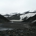 Crater on Deception Island, Antarctica