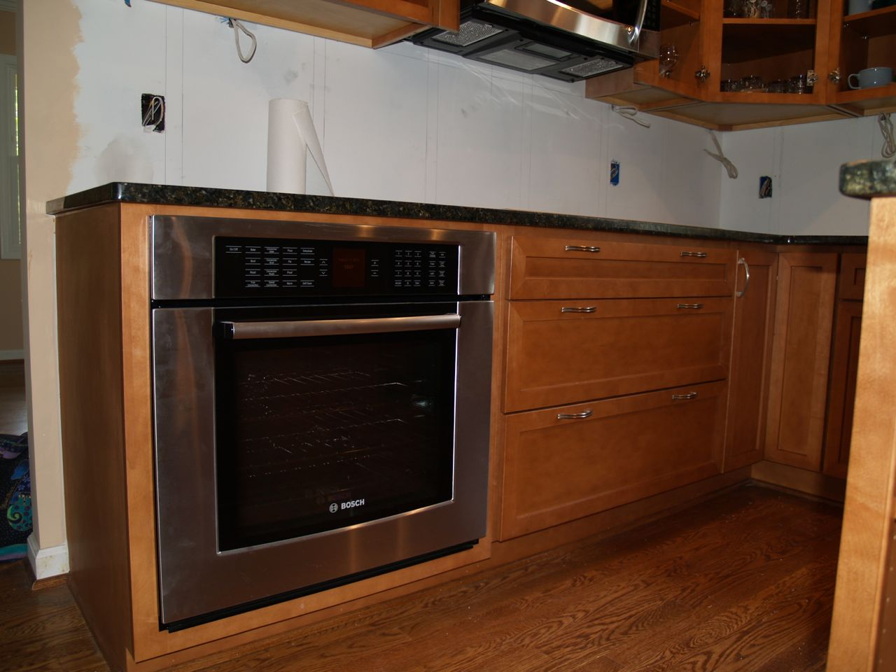 new wall oven - Kitchen Wall Oven Cabinets
