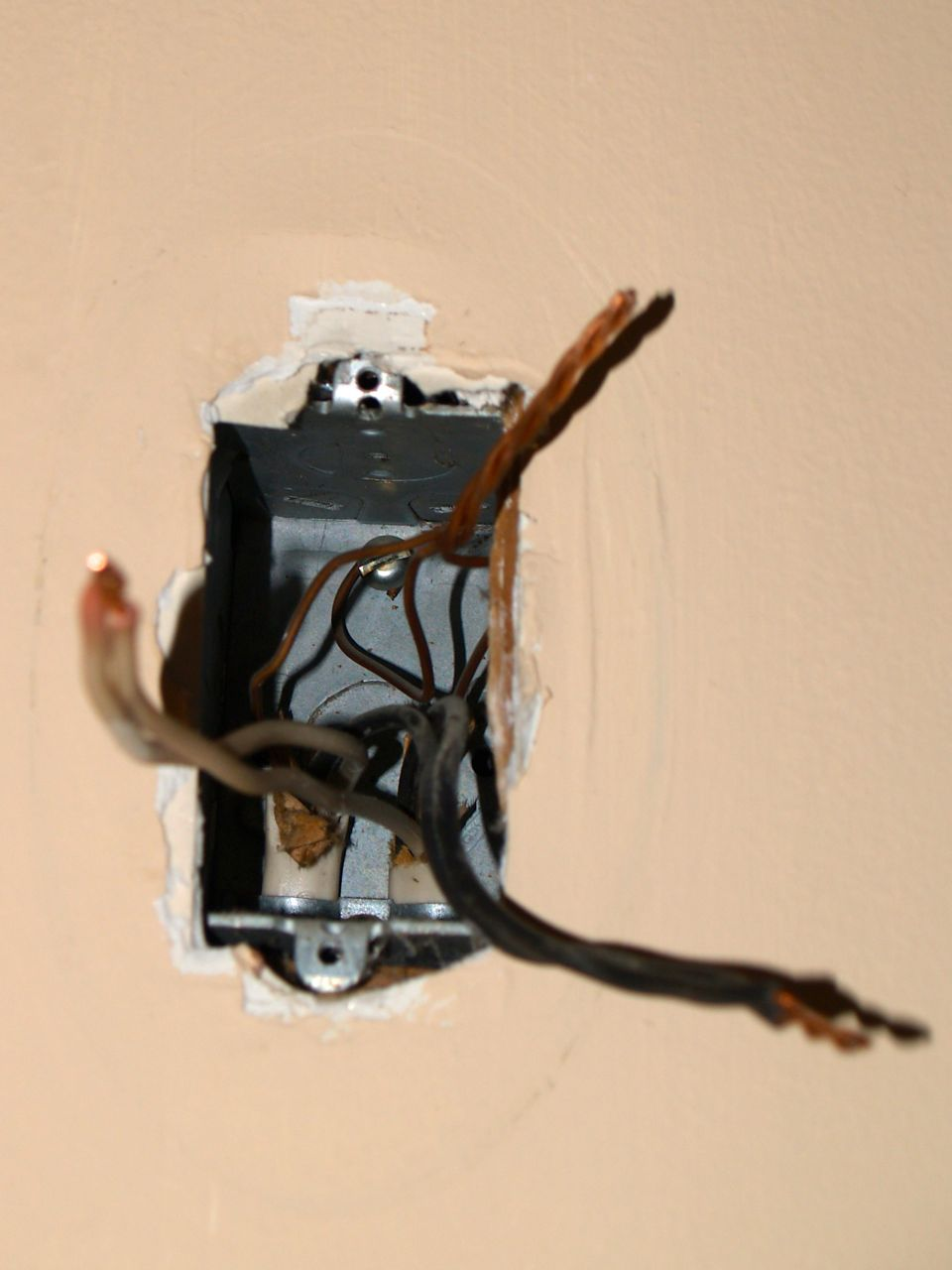 Changing A Lighting Fixture Geeky Girl Engineer Wiring Light And Outlet Here Is The New