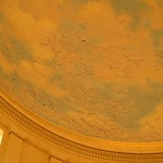 Seagulls painted in Utah State Capitol Dome