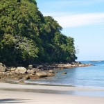 Beach in Manuel Antonio National Park, Costa Rica