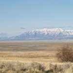 view from Antelope Island in Great Salt Lake