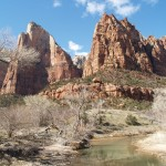 Canyon Junction in Zion National Park