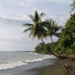 Beach in Corcovado National Park, Costa Rica