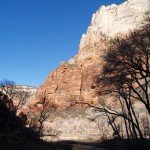 Across from the Grotto in Zion National Park