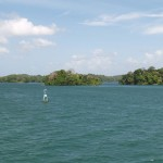 Gatun Lake in Panama Canal, Panama