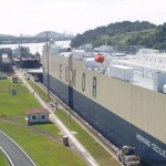 Miraflores Locks in Panama Canal, Panama
