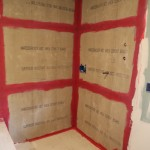 Hardiboard in shower and cement base in shower