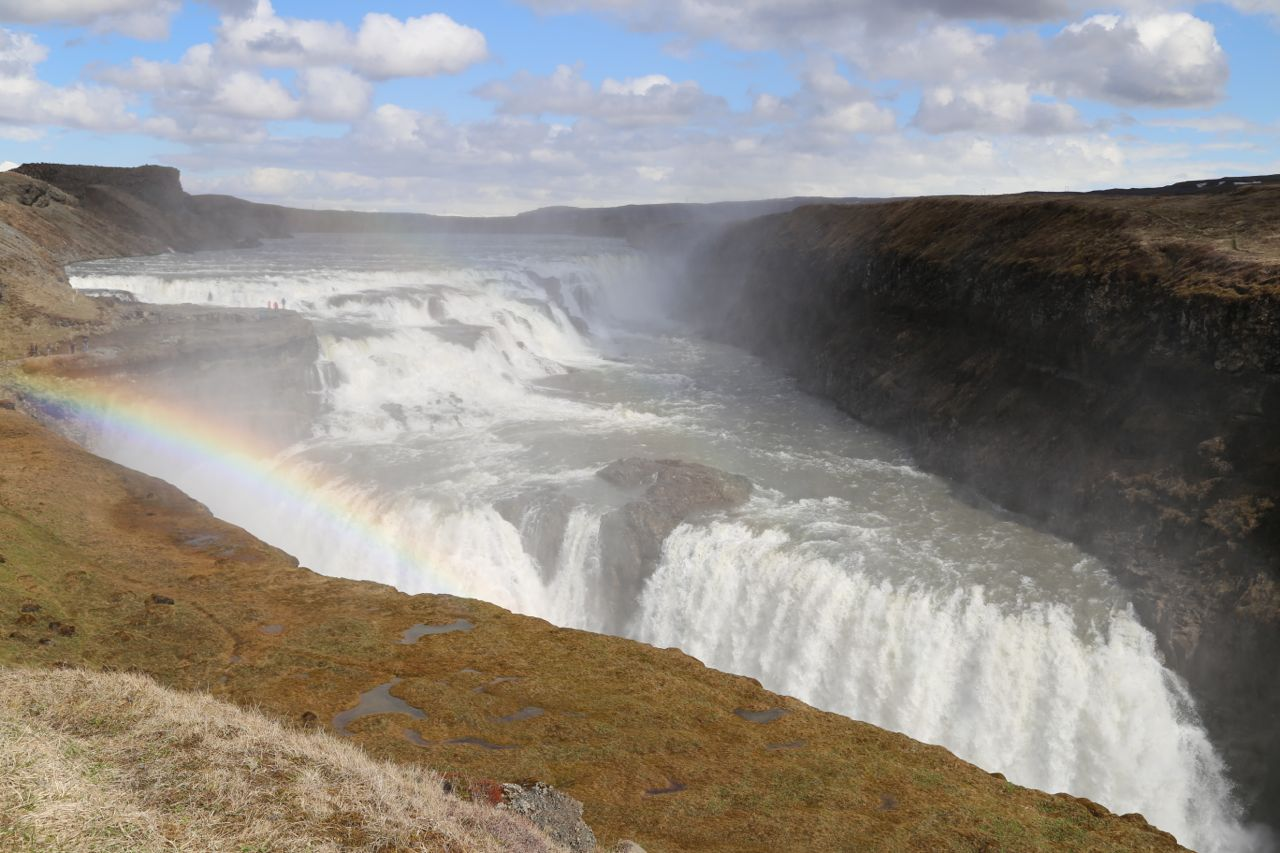 Download this View Entire Gullfoss... picture