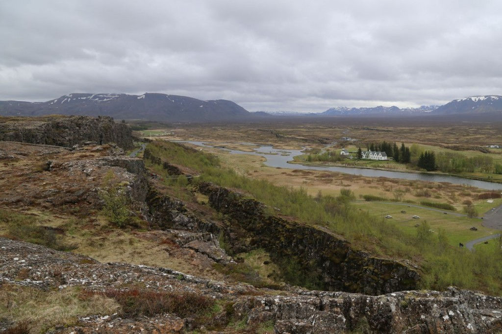 Thingvellir view from visitor's center