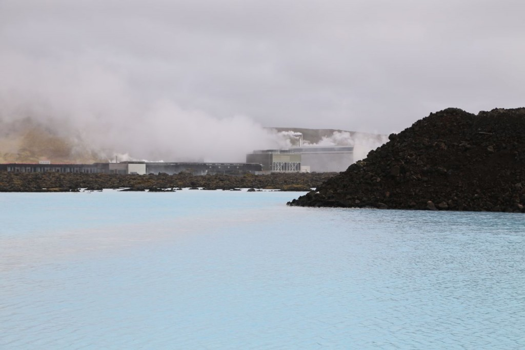 Power plant which caused the Blue Lagoon to form