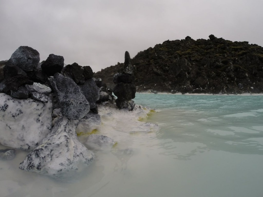 Rock edge of Blue Lagoon