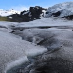 Melt stream on Falljökull