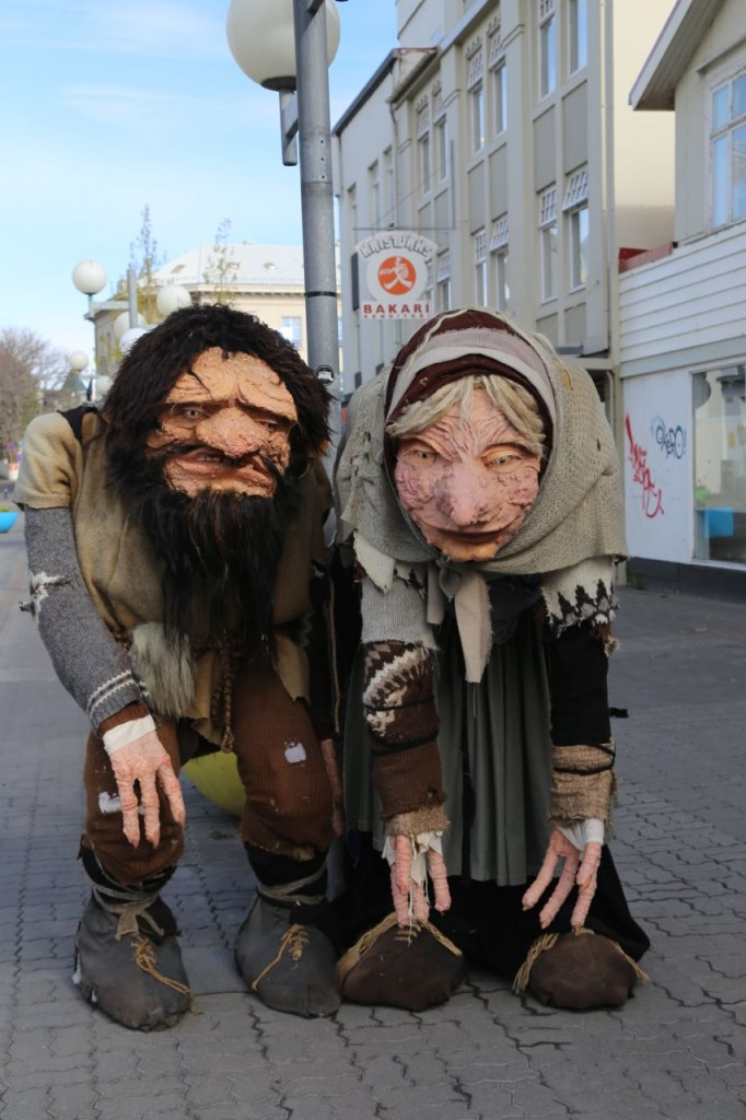 Trolls on the main shopping street