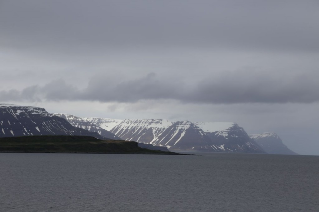 Vigur Island in foreground