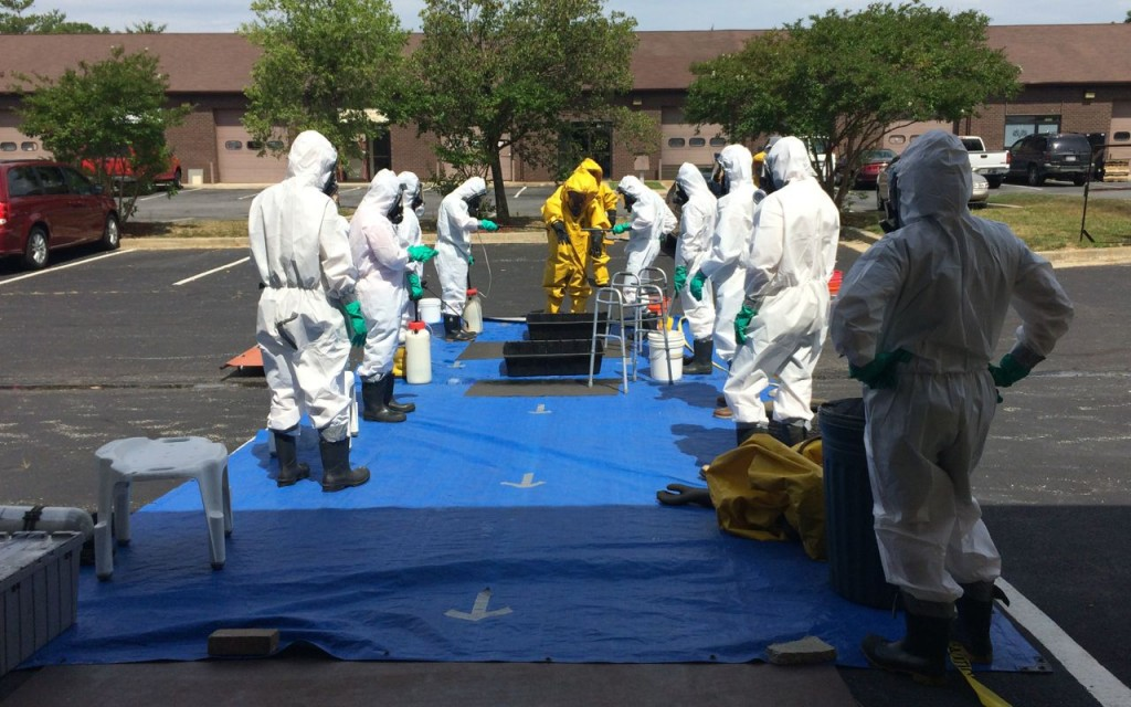 Decontamination practice