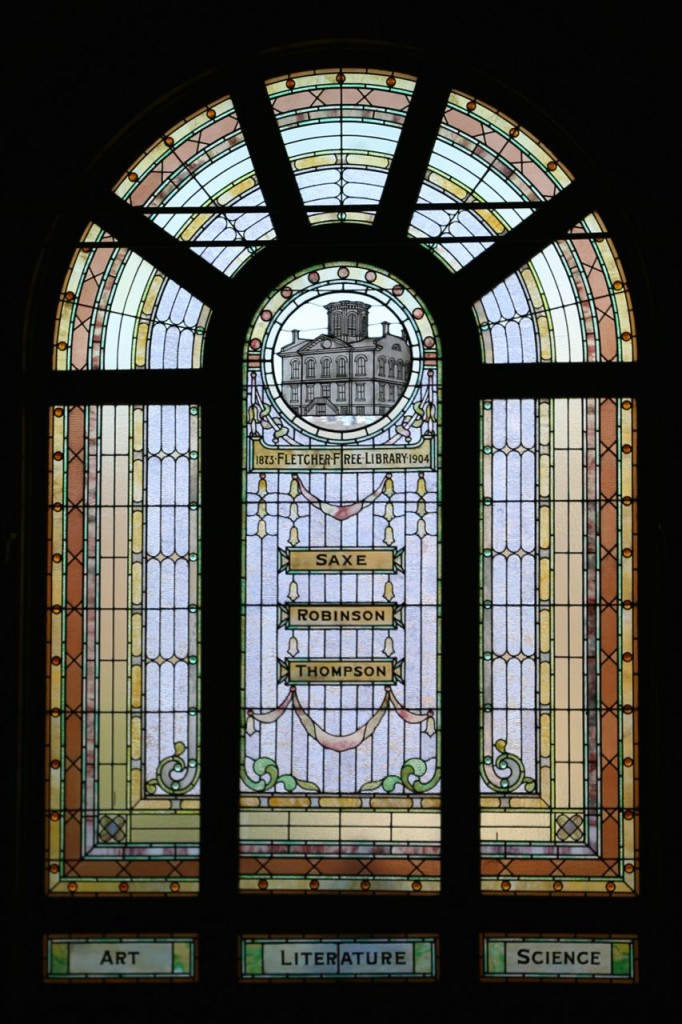 Fletcher Free Library window