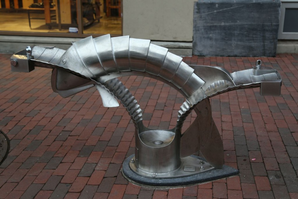 Water fountain on Church Street