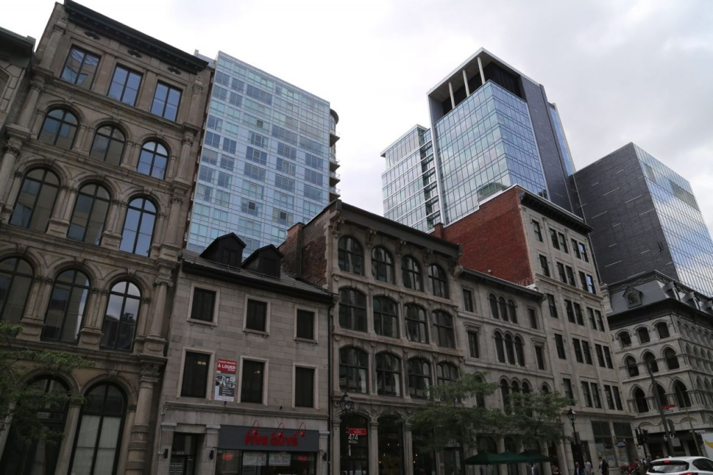 Old and new Montreal