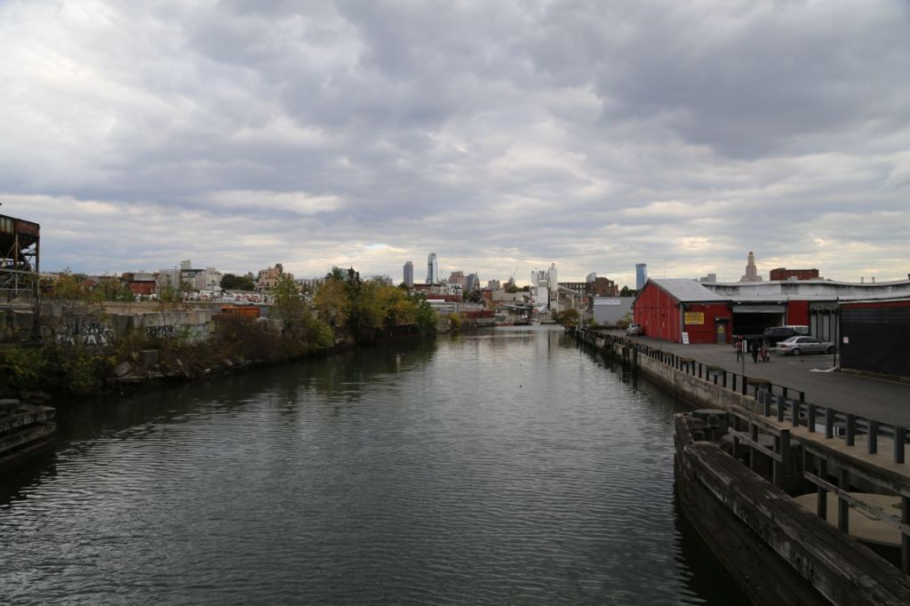 Gowanus Canal southern end