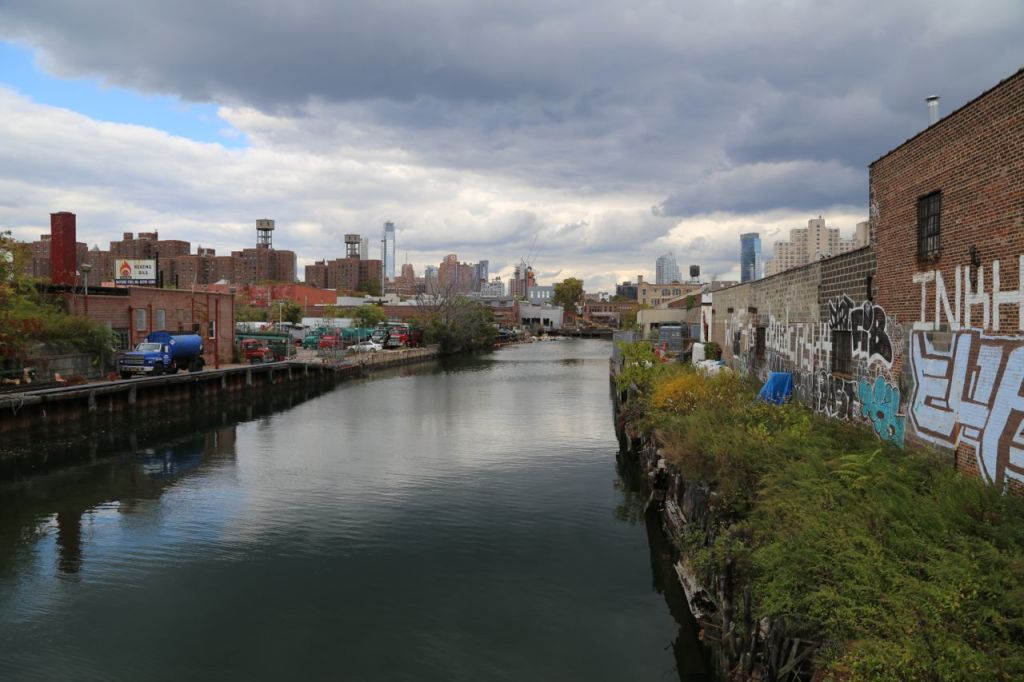 Northern end of the Gowanus Canal