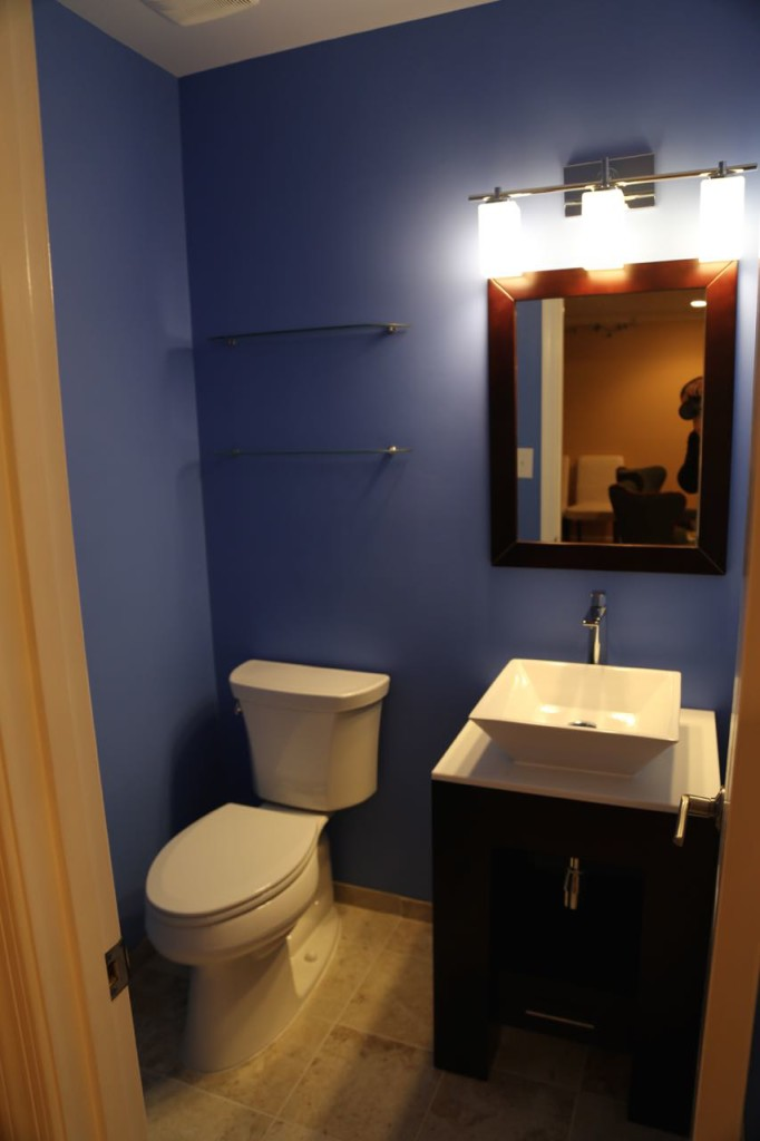 Full view of half bathroom