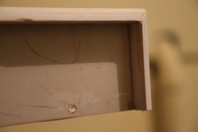 Spackle used to fill in holes and gaps