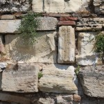 Stones of wall, Athens