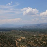 View from Mycenae