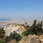 view from Filopappou Hill, Athens