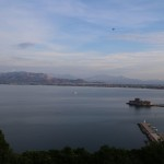 view from Nafplio hotel