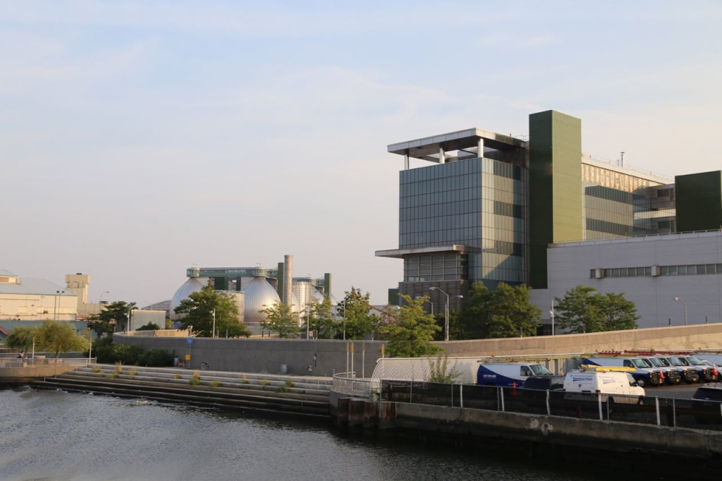 Newtown Creek Wastewater Treatment Plant and DEP offices