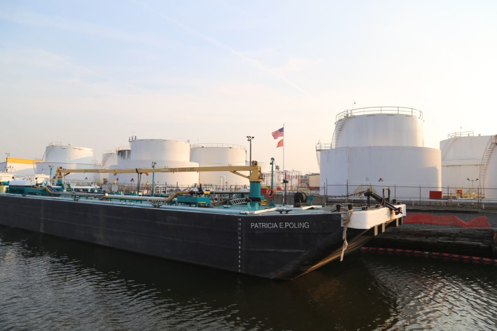 Fuel tanks and barge