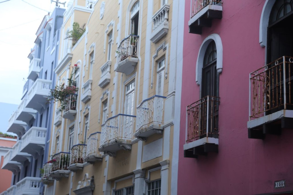 Lots of balconies