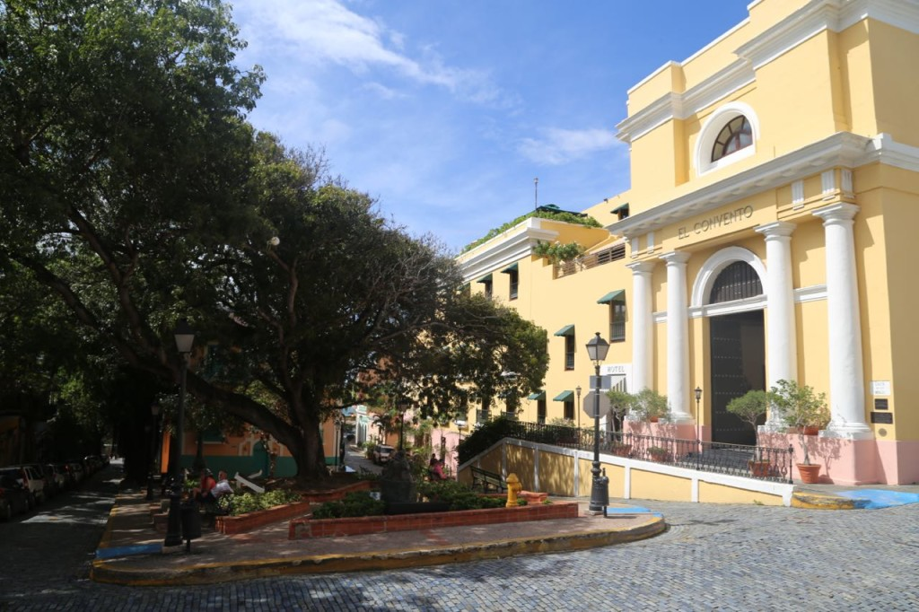 El Convento, originally a convent and now a lovely hotel