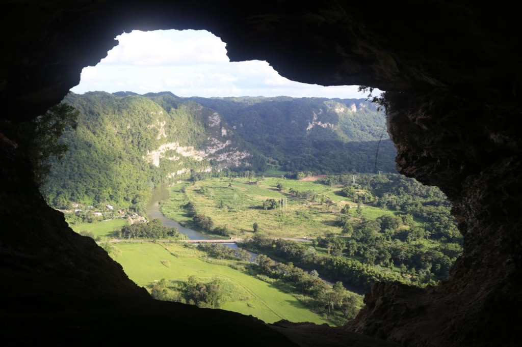 Cueva Ventana's Window to Arecibo River valley
