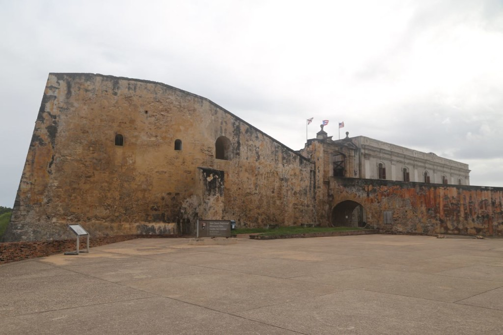 Exterior of fort