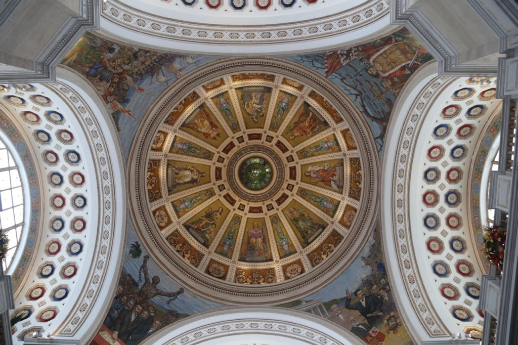 Central dome of Capital of Puerto Rico