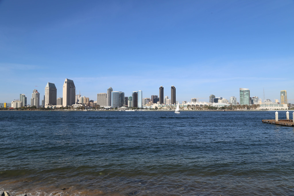 View of San Diego from Coronado